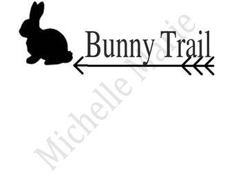 Bunny Trail FarmHouse SVG