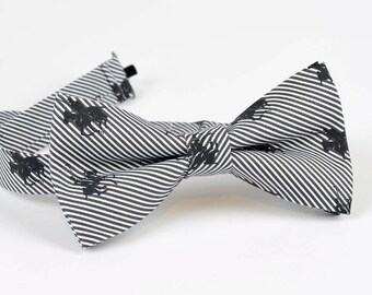 Polo Striped Bow tie, Mens Bow Tie, Mens bow tie Gift, Business Gifts, Designer bowties, Wedding Bowties, Cotton bowties, Christmas Gift