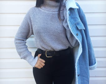Vintage Sweater Turtleneck