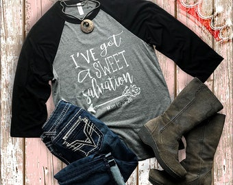 Raglan, Baseball T, Christian T-Shirt