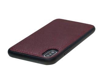 iPhone X Leather Case, iPhone X Case, iPhone X Cover, Magnetic iPhone X Case, iPhone X Sleeve, Leather iPhone Case, Customized iPhone Case