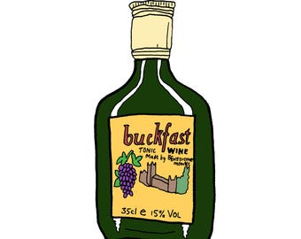 A4 Buckfast Print