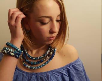 Bogotà, handmade necklace / bracelet.