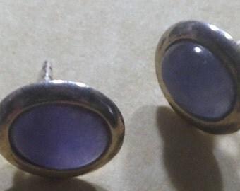 Real Chalcedony Earrings