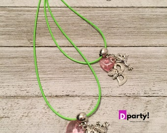 Tiana Party Favors, 10 Pack, Tiana Necklaces Party Favors, Tiana Birthday Party, Princess and the Frog Birthday