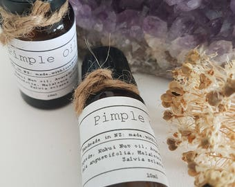 Pimple Essential Oil Blend- Natural Product-Pure Essential oils- clear skin