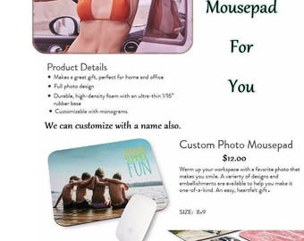 Bella Thorne #195 Mousepad