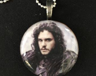 Jon Snow Pendant