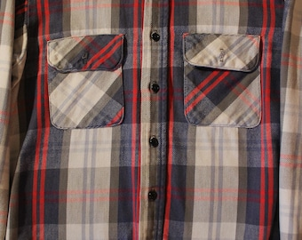 Vintage Flannel Shirt | Size Medium | Five Bothers | Made in USA