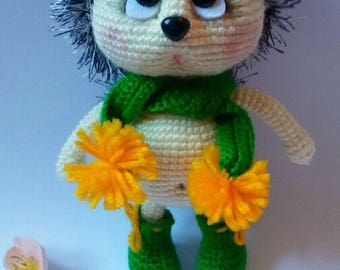 Crochet Hedgehog , Amigurumi