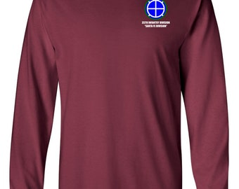 35th Infantry Division Long-Sleeve Cotton Shirt-8690