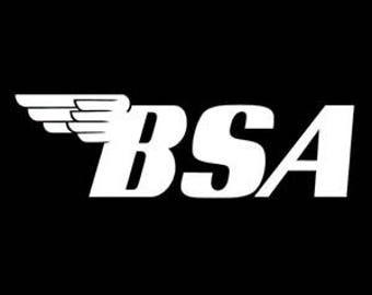 BSA decal sticker Laptop Window Car Truck Motorcycle Biker Moto Sale