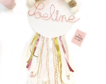 Dream catcher name Liberty and tassels