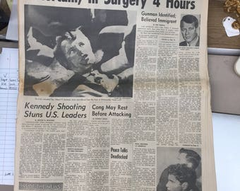 The Indianapolis News Wednesday Evening June 5, 1968