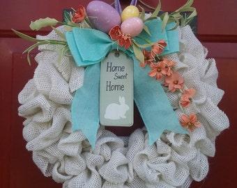 Springtime/Easter Wreath