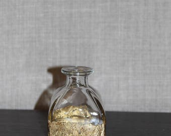 Gold Leaf Vase (Small Bud Vase)