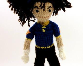 Tai (Digimon Adventure 01) - Handmade crochet original design doll