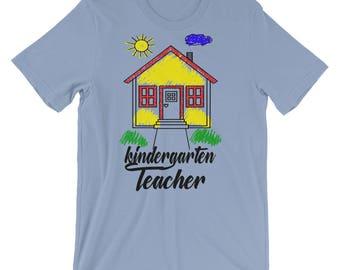 Cute Kindergarten Shirt, Kindergarten Teacher Gift, Teacher Gift Idea, Teacher Appreciation