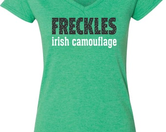 Freckles - Irish Camouflage Festive St Patrick's Day Shirt