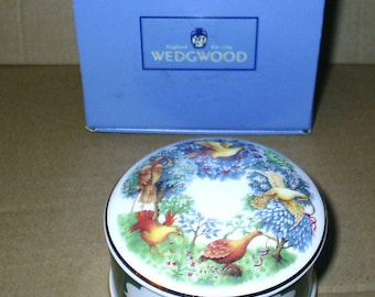 Wedgwood 12 Days of Christmas 5 Gold Rings Box BOXED