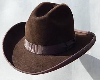 8X Fur Felt Western Fedora Hat
