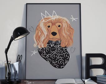 Custom illustration of your pet.