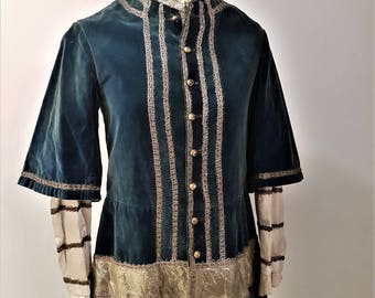 Men's Renaissance Elizabethan Doublet Costume, Tudor, Elizabethan, Doublet, French Antique Theatre costumes