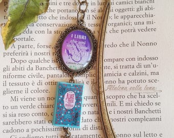 Bookmark Alice in Wonderland-mini book-Bookmark