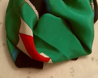 Silk Scarf/Vintage