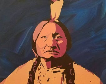 Sitting Bull - print