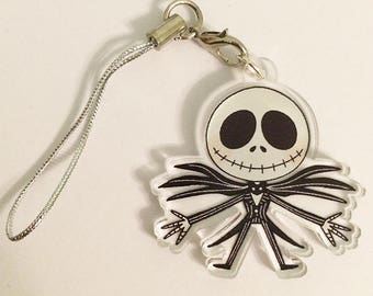 Nightmare Before Christmas Jack Skellington Acrylic Charm