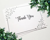 Thank You Cards - Wedding...