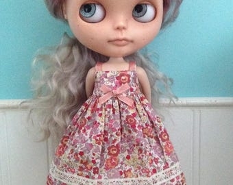 Sun Dress for Blythe - Liberty Tana Lawn Maxidress #1