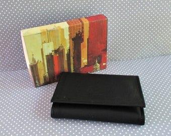 Vintage Men's Genuine Bolero Cowhide Wallet / Bill Fold