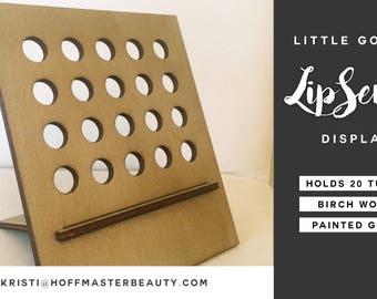 Little Goldie Tiny LipSense Organizer - LipSense Display