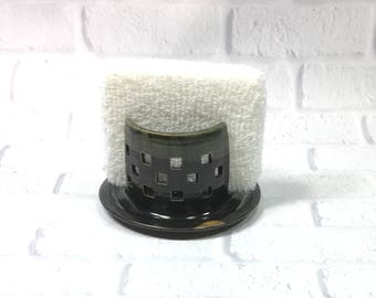 Sponge Holder - Ceramic Sponge Holder - Pottery Candle Holder - Kitchen Accessory - Pottery Sponge Caddy - Sponge Dryer - Napkin Holder