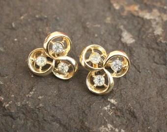 Vintage Coro Earrings, Vintage Clip On Earrings, Earrings, Clip On Earrings, Coro, Coro Earrings