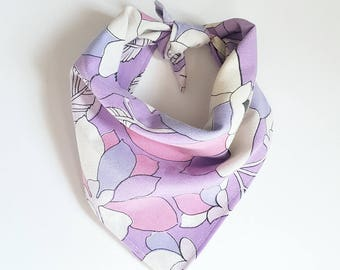 REPURPOSED Dog Bandana. Upcycled Dog Accessory. Dog Scarf. Pet Accessories. Ready To Ship.