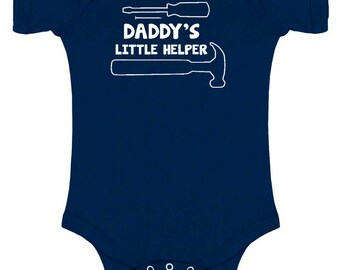 Daddy's Little Helper Baby Bodysuit