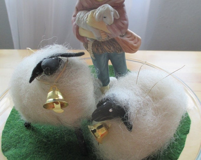Wee Little Sheep  for Spring & Easter Decorating