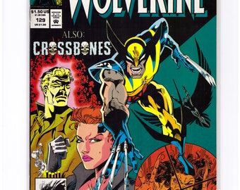 Issue 129 Wolverine with Crossbones Comic Book