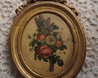 Antique Print framed