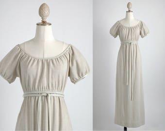 1960s vintage Bonnie Cashin wool + leather dress * 5S964