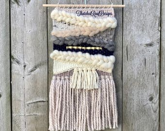 SEAWASHED Neutral Woven Wall Hanging
