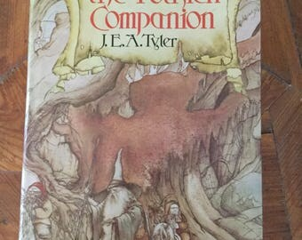 The Tolkien Companion by J. E. A. Tyler, Middle Earth, Lord of the Rings, Tolkien Trivia, Bell Edition St. Martin's Press, 1979