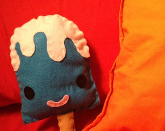 Super-Easy Popsicle Softie Tutorial and Pattern Downloadable PDF Sewing Pattern and Instructions