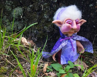 URSULA Witch Doctor Schrume - TROLL Doll Collectible Figurine, The Schrumes Collection