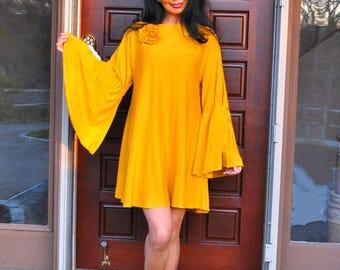 Eco Friendly Clothing - Hippie BOHO Caftan Dress
