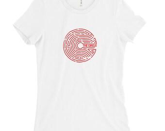 The Circle Company- Women's  Slim Fit T-SHIRTS-003
