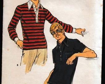 Butterirck 3497 Men's Stretch Knit Shirt